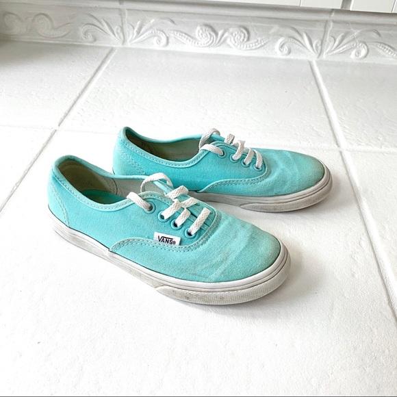 Vans Shoes | Kids Aqua Blue 13 | Poshmark